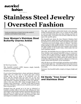 OverSteel Fashion