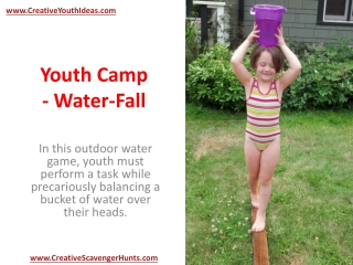 Youth Camp - Water-Fall