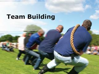team building (modern) powerpoint presentation content: 134