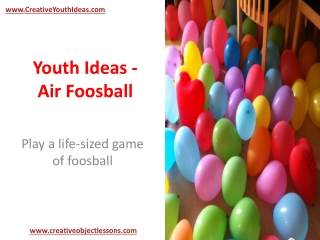 Youth Ideas - Air Foosball