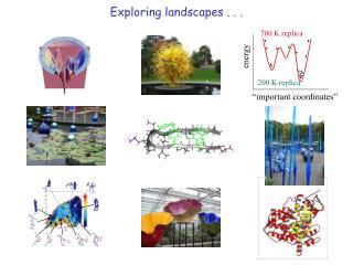 Exploring landscapes . . .