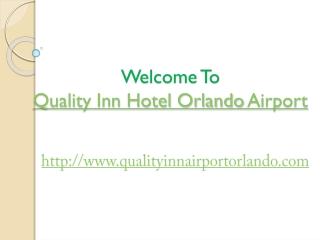 Quality inn hotel orlando