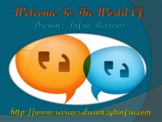 Dreamz Infra Reviews