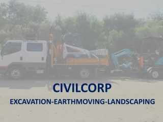 Excavation and Landscaping by CivilCorp