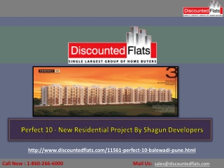 New Residential Development at Balewadi – Perfect 10