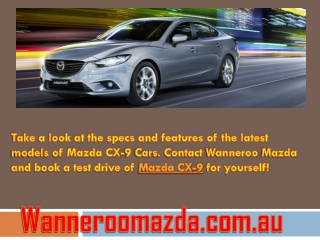 Buy Mazda cx-9 at Affordable rates