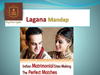India's No.1 Matrimonial - Lagana Mandap