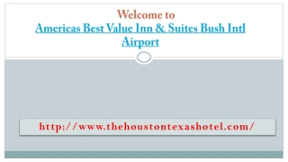 Americas best value inn houston