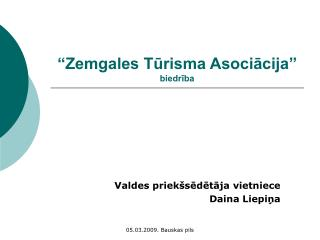 Zemgales Turisma Asociacija  biedriba
