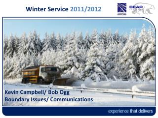 Winter Service 2011