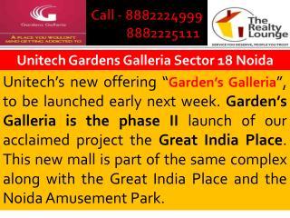 gardens galleria noida and unitech gardens galleria noida se