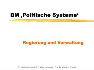 BM  Politische Systeme