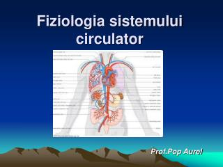 Fiziologia sistemului circulator