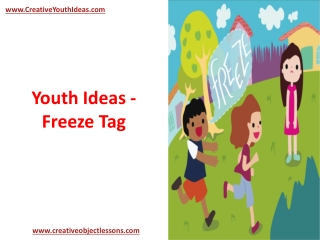 Youth Ideas - Freeze Tag