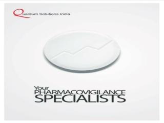 Pharmacovigilance, Drug Safety Services by QSI