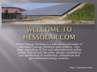 Hessolar-Solar Energy Companies