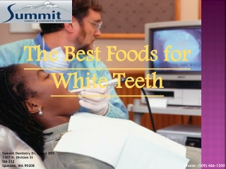 The Best Foods for White Teeth | (509) 466-1200