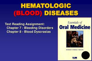 HEMATOLOGIC BLOOD DISEASES