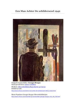 Een Man Achter De schildersezel 1942-- Artisoo