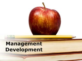 management development (modern) presentation: 164 slides