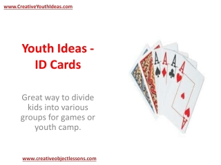 Youth Ideas - ID Cards
