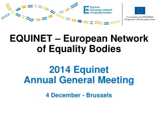 Equinet European Network of Equality Bodies