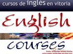 Academia de ingles en Vitoria