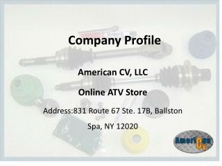 American CV Online ATV Store