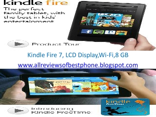 Kindle fire Tablet 7""