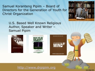Samuel Koranteng Pipim - Director of Youth Ministry