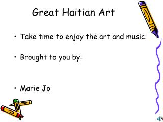 Great Haitian Art