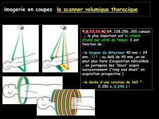 Imagerie en coupes  le scanner volumique thoracique