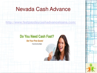 Nevada Cash Advance