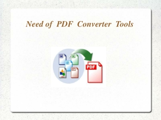 Why use PDF converter tools