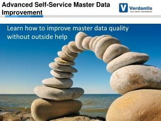 SAP Insider webcast: Advanced Self-Service Master Data Impro
