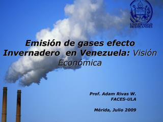 Comportamiento de las Emisiones GHE, en Venezuela