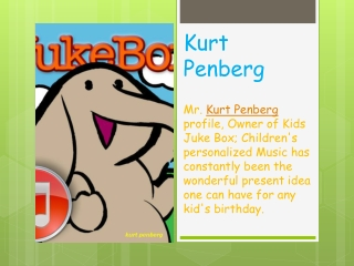 kurt penberg - kids juke box