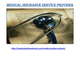 Medical Online Schools Service