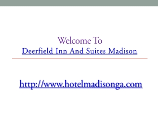 Deerfield Inn madison