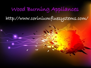 Wood Burning Appliances