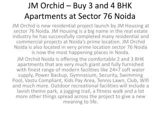 JM Orchid