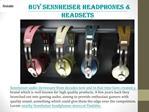 Explore Sennheiser Headphones