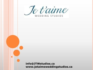 Je T'aime Wedding Studios