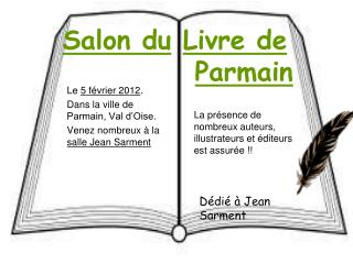 Salon du Livre de            Parmain
