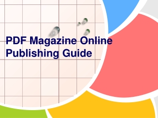 PDF Magazine Online Publishing Guide