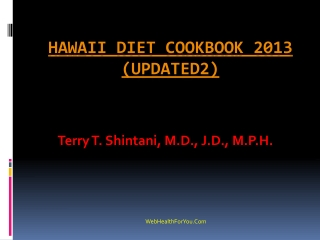 Hawaii Diet Cookbook 2013 (updated2)14