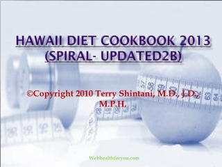 Hawaii Diet Cookbook 2013 (spiral- updated2b)15