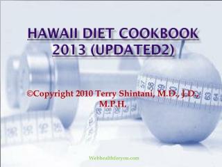 Hawaii Diet Cookbook 2013 (updated2)15
