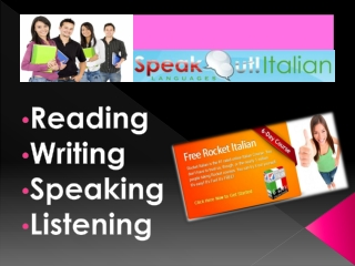 The Key Traits of Tell Me More Italian Course