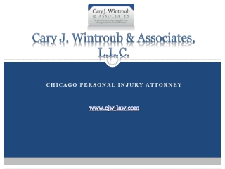 Chicago Personal Injury Attorney